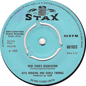 Otis Redding & Carla Thomas New Year's Resolution